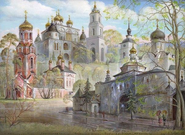 Нарисованный Дмитров!