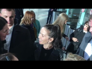 Наталия Орейро - Встреча в аэропорту 08.04.2016