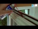 Уход за стеклопакетами.Смазка подвижных механизмов.Видео-инструкция