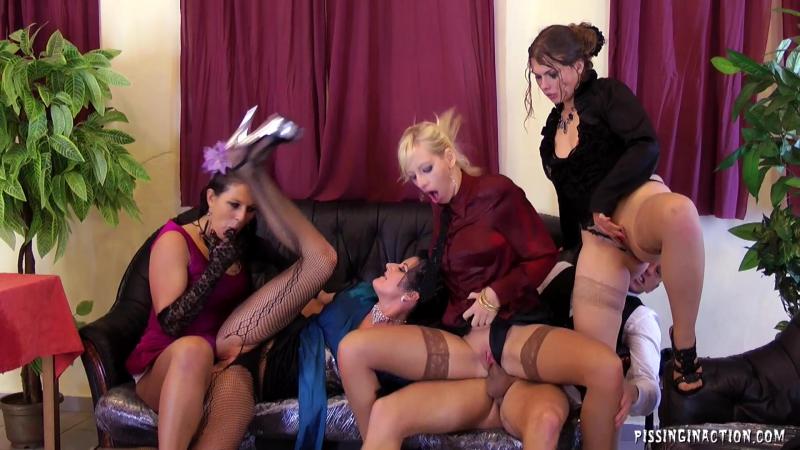 The Wine And Piss Tasting Part 2 ( Celine Noiret, Johane Johansson, Bella Morgan, Valentina