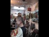 Массаж в индийской парикмахерской