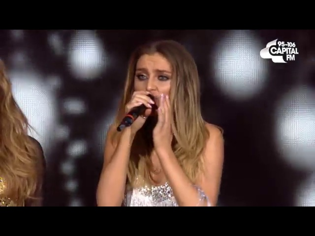 Little Mix Ft. Jason Derulo - Secret Love Song (Live at The Jingle Bell Ball 2015)