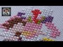 Как достичь ИДЕАЛЬНЫЙ ЭФФЕКТ Видео-зарисовки про BACKSTITCH Вышивка крестиком