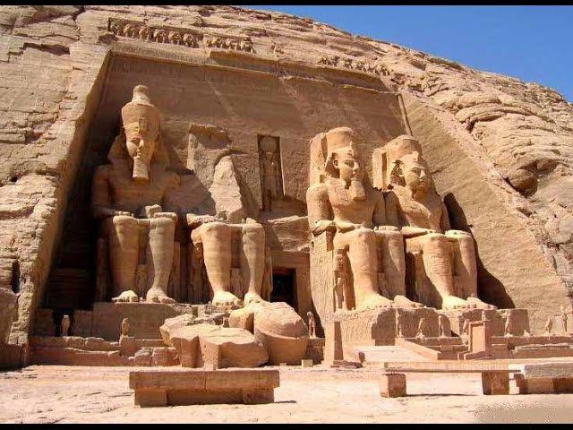 Достопримечательности Египта: Храмы Абу-Симбел: Храмы вырубленные в скале