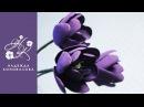 Как сделать тюльпаны из фоамирана для букета