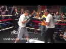 GENNADY GOLOVKIN HAS THUNDERING POWER MONSTER HOOKS VICIOUS MITT WORK - EsNews Boxing