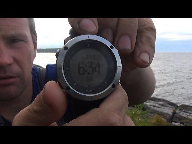 Обзор .Совет присмотреться.Мои новые часы Suunto traverse SS021843000 Предварительный обзор.фс16