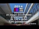 ODTÜ Orta Doğu Teknik Üniversitesi 2014