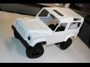 Defender часть 2 Сборка шасси радиоуправляемой трофи модели RC4WD Gelande II rc car