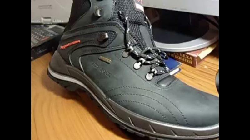 обзор треккинговых ботинок Red Rock (Grisport) 11101