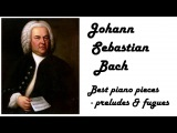 Johann Sebastian Bach - Best Preludes &amp Fugues in 432 Hz tuning (relaxing piano music for reading)