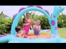 Intex 57437 Dino Spray Pool, надувной бассейн Динозавр