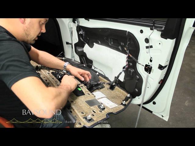 BMW 5 Series M5 F10 F11 2010 Stage One HiFi Speaker Upgrade Install