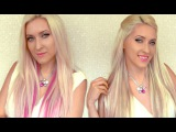 Instant highlights with clip in extensions How to add lowlights to your hair with Glam Time Hair