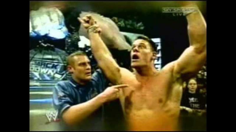 [My1] WWE Backlash 2003 - Brock Lesnar vs John Cena Promo