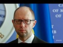 Яценюк подал в отставку Address of the Prime Minister of Ukraine Arseniy Yatsenyuk
