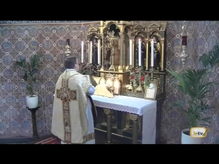 Traditional Latin Mass on Trinity Sunday from Kirche St. Petrus Canisius - Saarlouis 31 May 2015