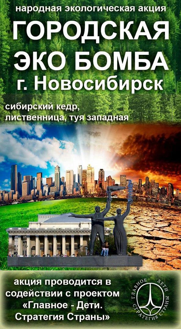 Афиша Городская ЭКОбомба.Новосибирск