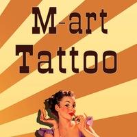 Логотип Студия «M-art», татуировка Обнинск, Балабаново