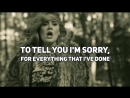 Перевод песни Adele - Hello