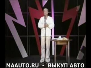 Михаил Задорнов о  КВН  и  ComedyClub