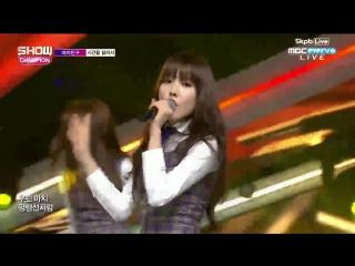 160224 GFriend (여자친구) - Rough (시간을 달려서) @ 쇼챔피언 Show Champion