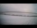 Покатушки на СеРВанте c разворотом на льду на озере Алебашево на полноприводном Honda CR-V Задняя камера