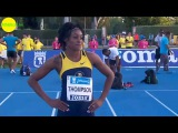 Elaine Thompson vs Barbara Pierre & Carina Horn 100m FINAL Madrid 2015