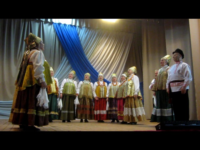 РАДЕЮШКА театр фольклора г Архангельска в Коноше