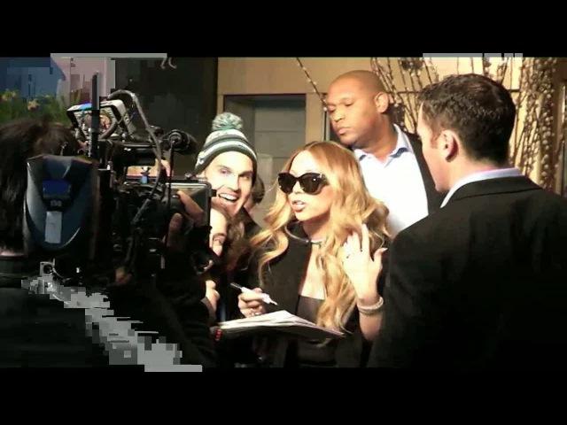 Här pratar Mariah Carey svenska - Nyheterna (TV4)