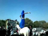 Desi Indian Lady Actor Wearning Ghagra Dancing On Horse - Sasu Aur Sasra Koi Nahi