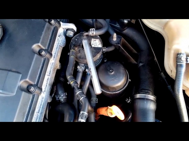 Замена топливного фильтра VW Passat 1.9tdi 85kw