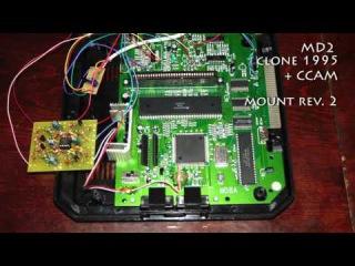 Altmer Crystal Clear Audio Mod for Sega Mega Drive 2