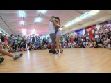 Albir &amp Sara - Mix your kizomba with tarraxhina moves @ SSD Rovinj 2016