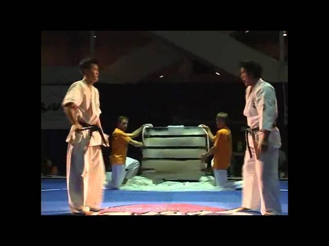 Enshin Karate. Kancho Joko Ninomiya . Sabaki Challenge 2010