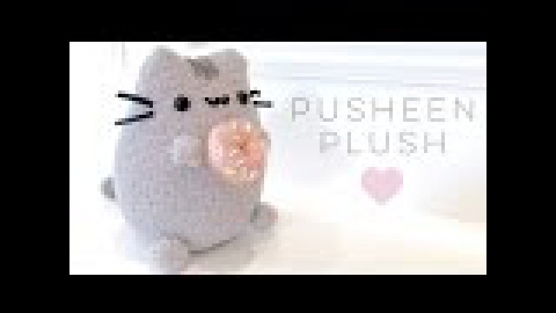 Pusheen Donut Plush Tutorial