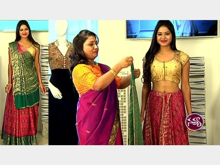 Lehenga Style Saree Draping | Saree Draping by Dolly Jain | Navya | Vanitha TV