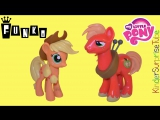 FUNKO My Little Pony Vinyl Figures Май Литл Пони Эппл Джек Биг Макинтош Фигурки