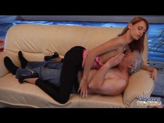 Порно девушка дедушка