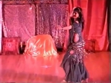 Belly dance baladi style with a cane 11