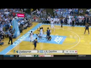NCAAM 2016/17   Chattanooga Mocs @ (6) North Carolina Tar Heels   13.11.2016