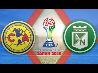 Америка 2:2 (по пен. 3:4) | Клубный чемпионат мира 2016 |  Матч за 3-е место | Обзор матча
