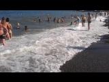 Черное море. Алушта 2016. Шторм