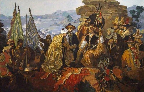 XVI-XVII ғасырлардағы Қазақ хандығы