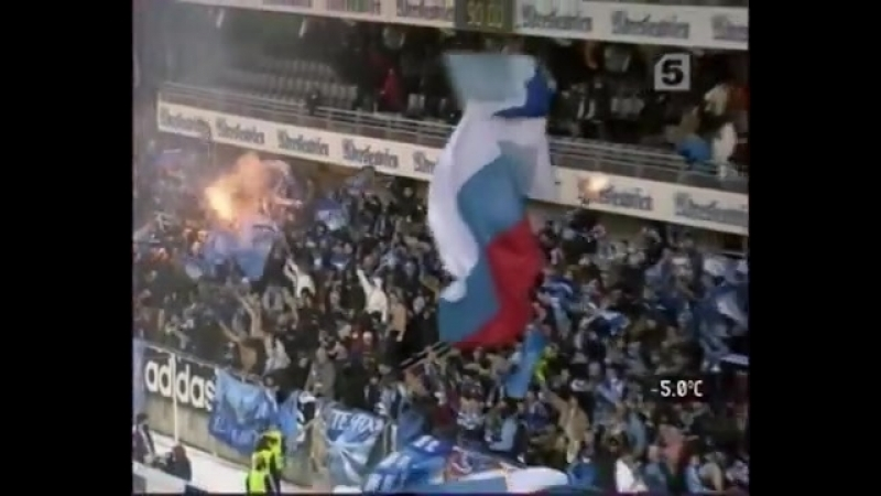 1/16 финала Кубка УЕФА - 2005-06. 1 матч. Русенборг - Зенит (15.02.2006)