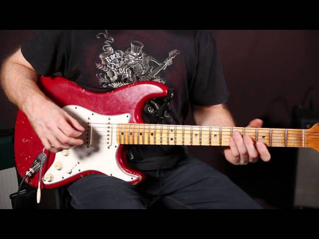 Funk Rhythm Guitar Concepts by Oz Noy - funk groove guitar lesson - Strat