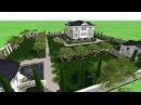 Проект ландшафтного дизайна участка 20 соток, Крым