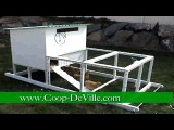 Coop-Deville - The Cadillac of Chicken Coops