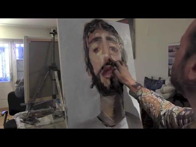 Научиться рисовать мужской порет , художник Сахаров