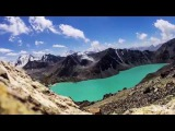 На озеро Ала Кёл за 4 минуты. On the lake Ala Kol in 4 minutes Kyrgyzstan (+timelapse)